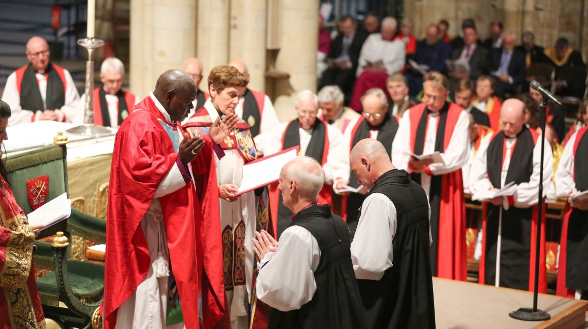 Pete Wilcox consecrated at York Minster